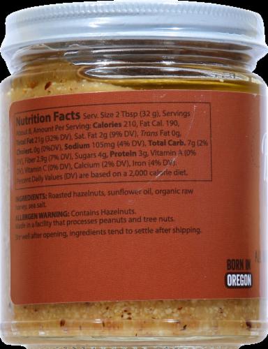 Bliss All Natural Honey & Sea Salt Hazelnut Butter Perspective: left