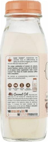 Leaner Creamer Hazelnut Coconut Oil Creamer Perspective: left