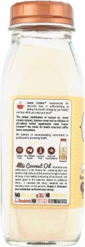 Leaner Creamer Caramel Coconut Oil Creamer Perspective: left