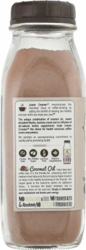 Leaner Creamer Mocha Coconut Oil Coffee Creamer Perspective: left