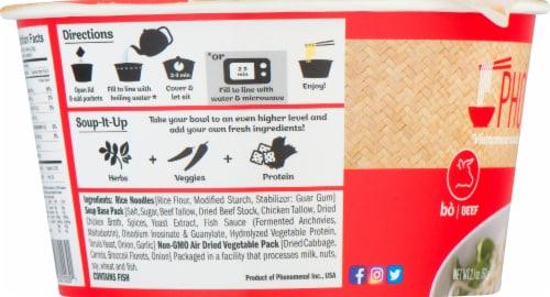 Pho'nomenal Vietnamese Beef Noodle Soup Perspective: left