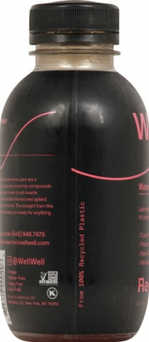 WellWell Recover Watermelon + Tart Cherry Hydration Drink Perspective: left