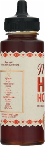 Mike's Hot Honey® Honey Infused with Chilies Perspective: left
