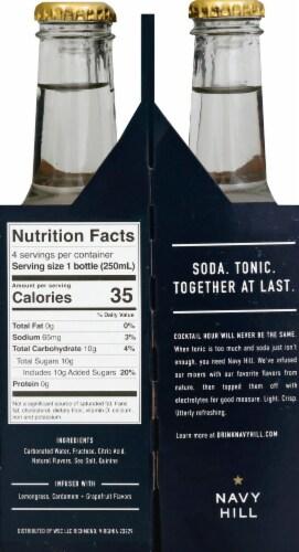 Navy Hill Original Soda & Tonic Perspective: left