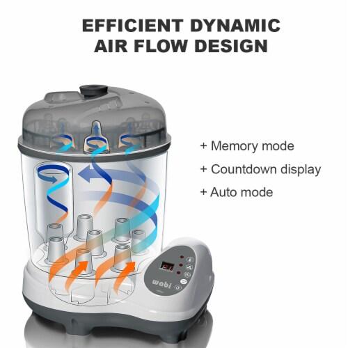Wabi Electric Steam Bottle Sanitizer & Dryer Perspective: left