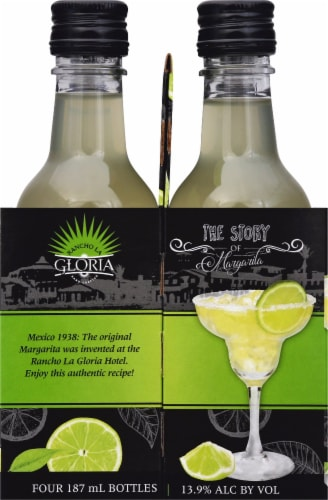 Rancho La Gloria Ready to Drink Margarita Wine Cocktail Perspective: left