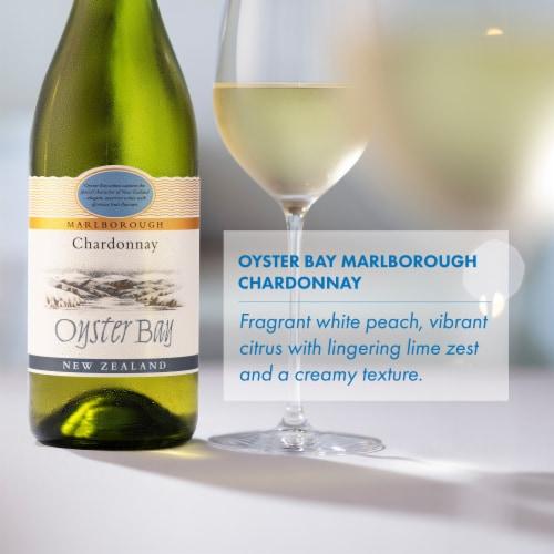 Oyster Bay Marlborough Chardonnay Perspective: left