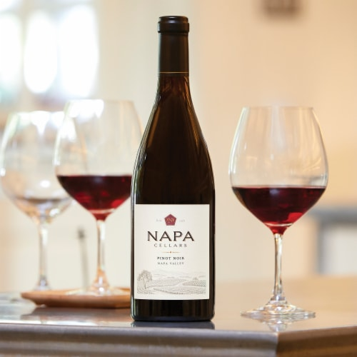 Napa Cellars Napa Valley Pinot Noir 750ml Wine Bottle Perspective: left