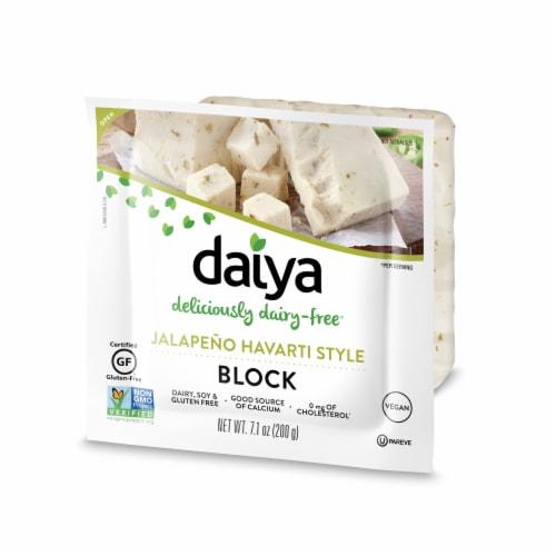 Daiya Jalapeno Havarti Style Block Perspective: left