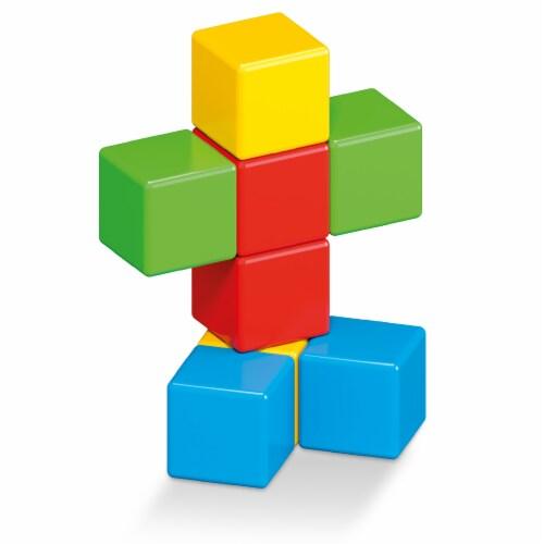 Geomag Magicube Classroom Blocks Set Perspective: left