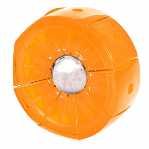 Geomag Kor Egg - Orange - 55 Piece Creative Magnet Playset Perspective: left