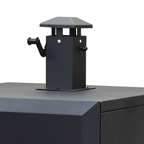 Dyna-Glo Vertical Charcoal Smoker Perspective: left