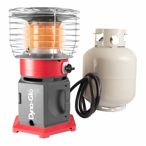 Dyna-Glo® HeatAround 360 Elite Heater - Red Perspective: left