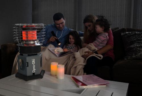 Dyna-Glo® HeatAround 360 Elite Heater - Black Perspective: left