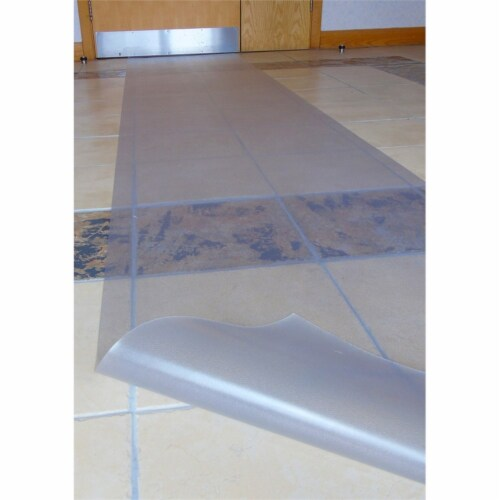 18' x 3' Long & Strong Runner Carpet Protector Perspective: left