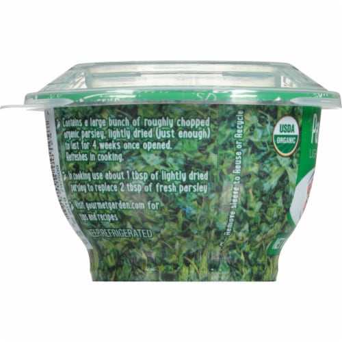 Gourmet Garden Organic Lightly Dried Parsley Perspective: left