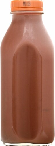 Homestead Creamery Wholesome Nutritious Chocolate Milk Perspective: left
