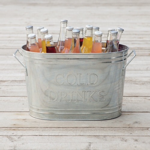 True Fabrications Cold Drinks Ice Bucket Perspective: left