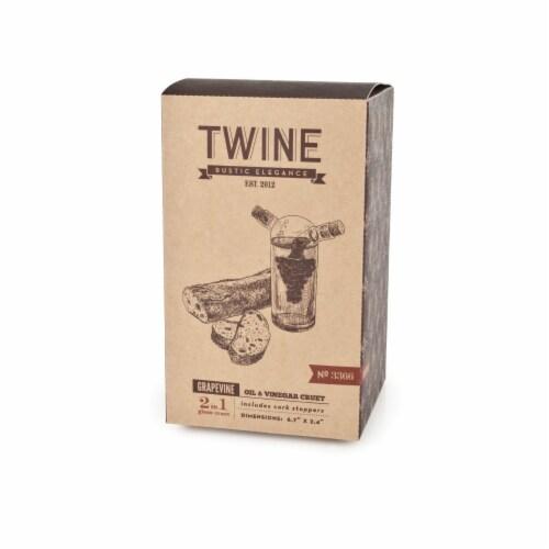 Oil & Vinegar Cruet by Twine® Perspective: left