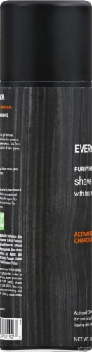 Every Man Jack Activated Charcoal Purifying Shave Gel Perspective: left