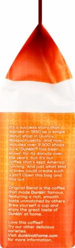 Dunkin' Donuts Original Blend Medium Roast Ground Coffee Perspective: left