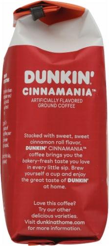 Dunkin'® Cinnamania™ Ground Coffee Perspective: left