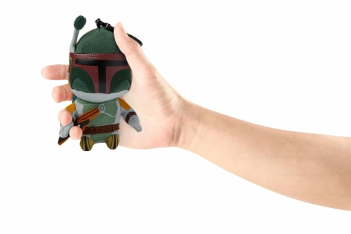 Star Wars Mini Talking Plush Toy Clip On - Boba Fett Perspective: left