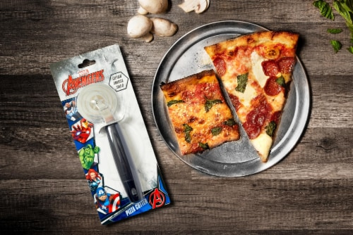 Marvel's Captain America Shield Pizza Cutter Perspective: left
