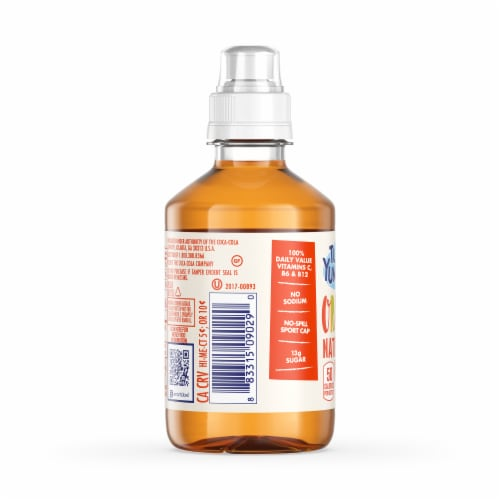 Tum-E Yummies Edgy Orange Burst Naturally Flavored Water Drink Perspective: left