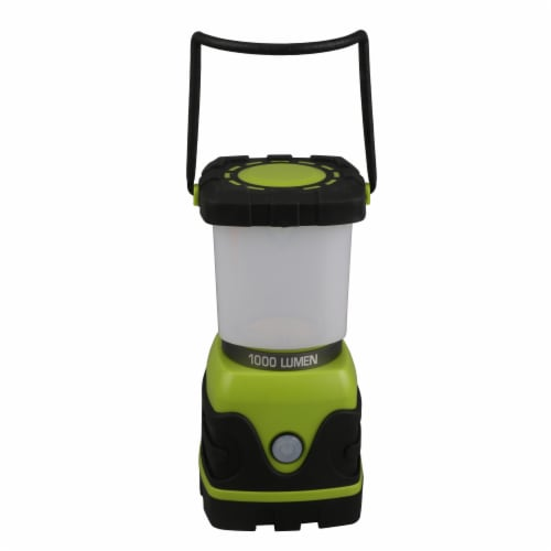 Tahoe Trails Camp Lantern - Green/Gray Perspective: left