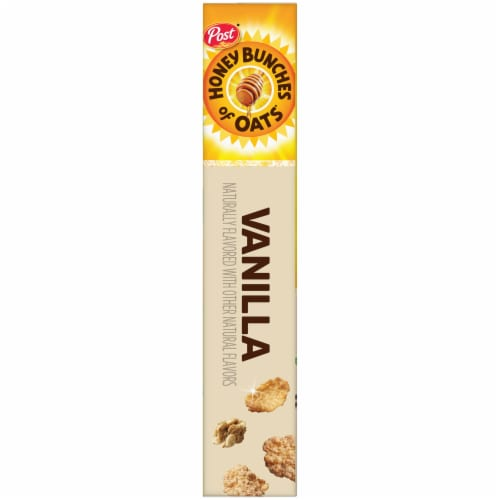 Honey Bunches of Oats Whole Grain Cereal with Vanilla Bunches Perspective: left