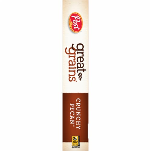 Post Great Grains Crunchy Pecan Cereal Perspective: left