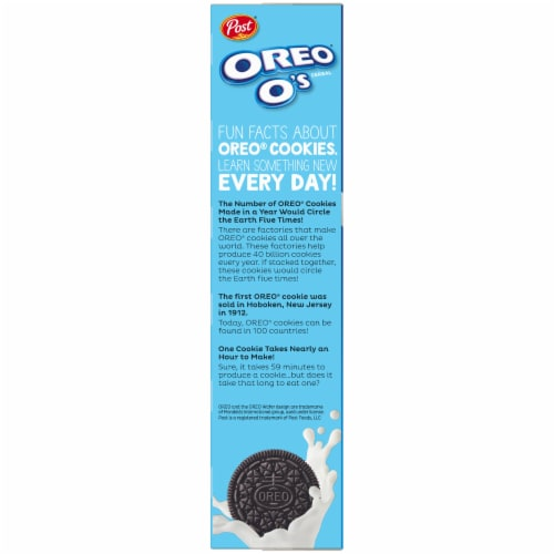 Post Oreo O's Cereal Perspective: left