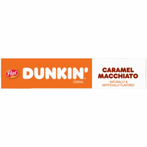 Dunkin' Caramel Macchiato Cereal Perspective: left