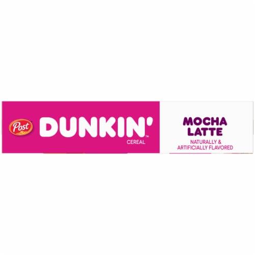 Dunkin' Mocha Latte Cereal Perspective: left