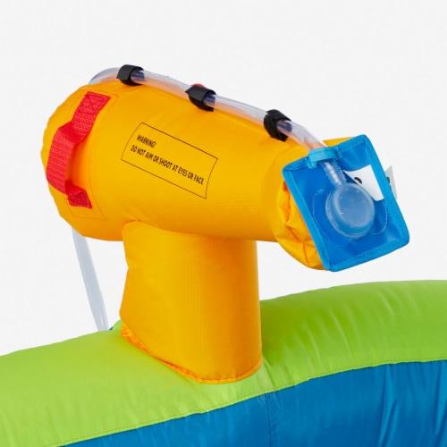 Kahuna 90793 Twin Falls Outdoor Inflatable Splash Pool Backyard Water Slide Park Perspective: left