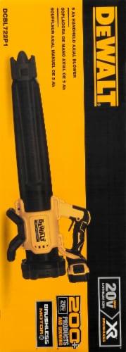 BLACK + DECKER Brushless Blower with 5Ah Pk 20V Perspective: left