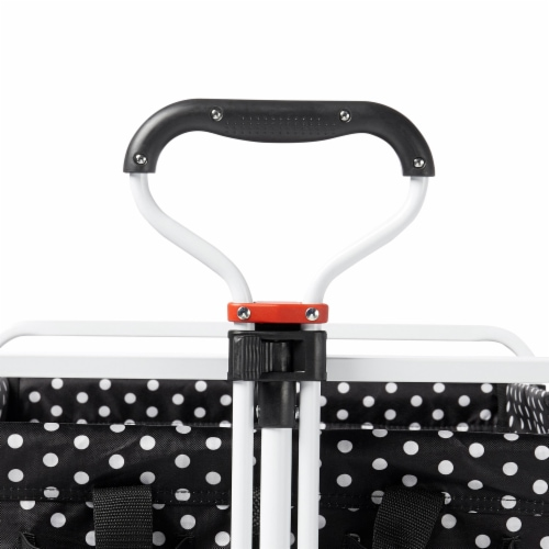 Mac Sports Collapsible Folding All Terrain Outdoor Beach Utility Wagon Cart Perspective: left
