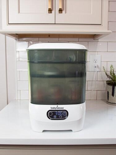 Baby Brezza Advanced Sterilizer Dryer Perspective: left