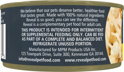 Reveal Grain Free Chicken Breast with Cheese Wet Cat Food Perspective: left