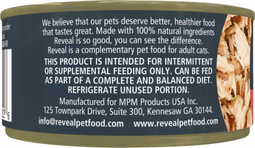 Reveal Grain Free Tuna Fillet with Crab Wet Cat Food Perspective: left