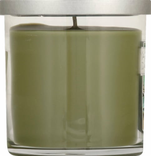 Yankee Candle® Sage & Citrus Tumbler Candle - Gray Perspective: left