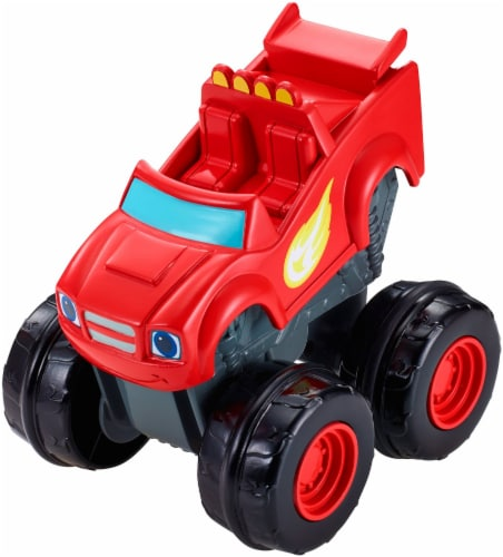 Fisher-Price® Blaze and the Monster Machines Slam & Go Blaze Vehicle Perspective: left