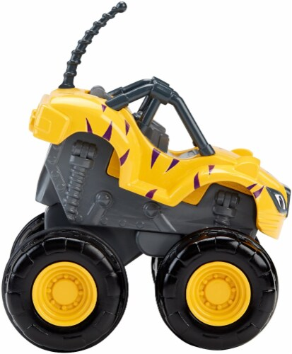 Fisher-Price® Blaze and the Monster Machines Slam & Go Stripes Vehicle Perspective: left