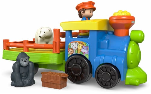 Fisher-Price Little People Choo-Choo Zoo Train Perspective: left