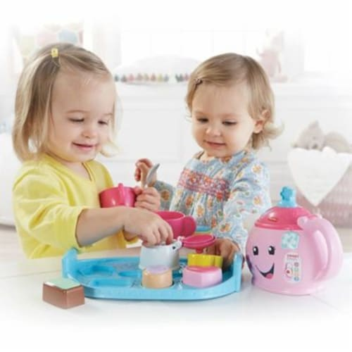 Fisher-Price Laugh & Learn Sweet Manners Tea Set Perspective: left
