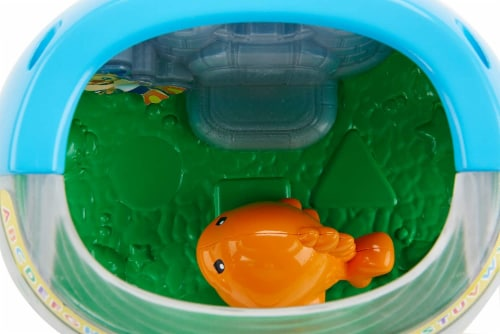 Fisher-Price Laugh & Learn Magical Lights Fishbowl Perspective: left