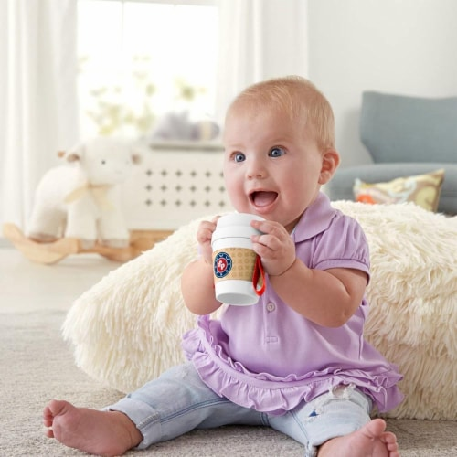 Fisher-Price® Coffee Cup Teether Perspective: left