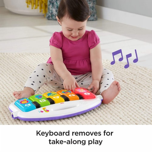 Fisher-Price® Kick & Play Piano Baby Playset Perspective: left