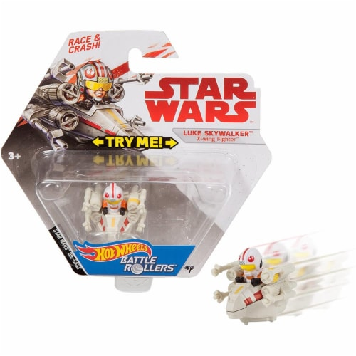 Mattel Hot Wheels® Star Wars Luke Skywalker Vehicle Perspective: left